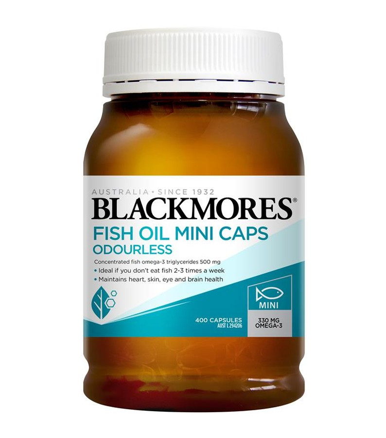 Blackmores Fish Oil Mini Caps