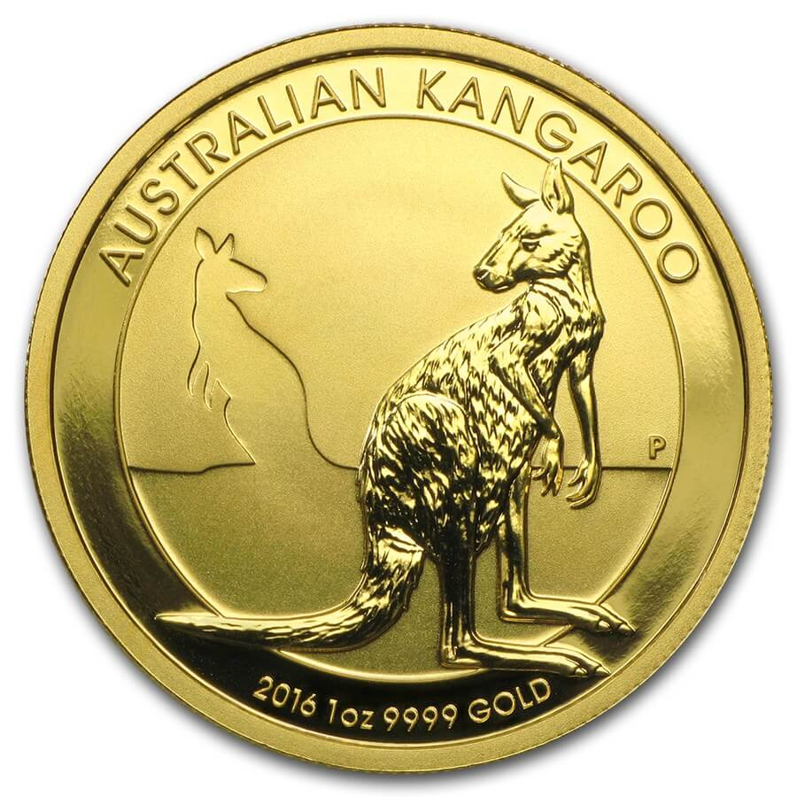 Gold Coin 1oz - 001